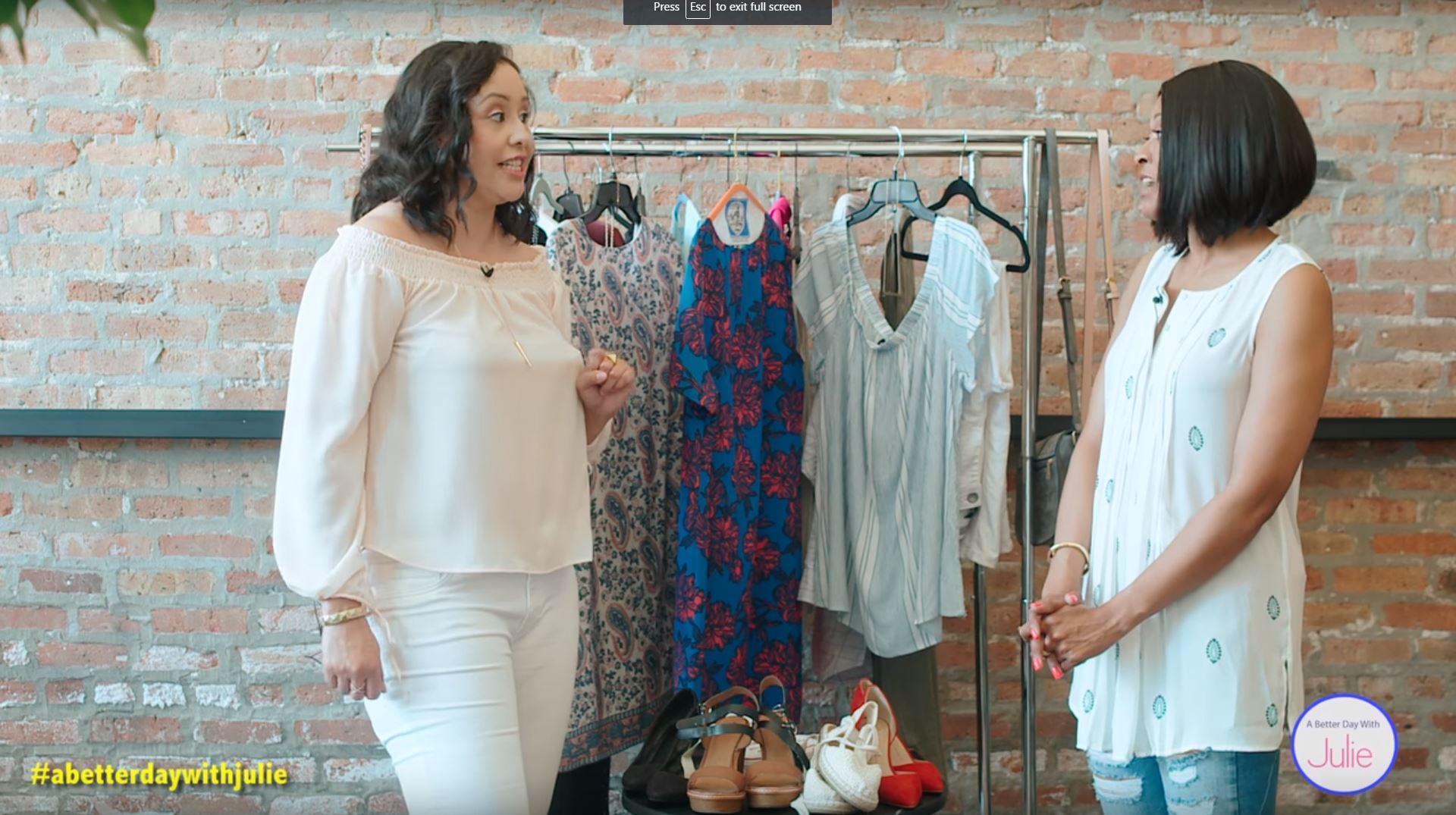Designer Looks For Less webisode #57 (A Better Day With Julie)